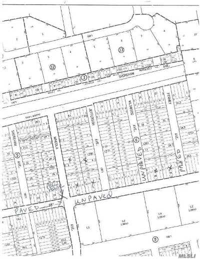Miller Place Residential Lots & Land For Sale: Lot #4 Mineola & Toledo Ave