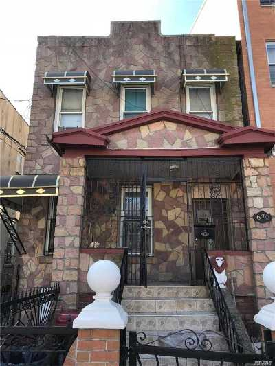 Brooklyn Multi Family Home For Sale: 670 Alabama Ave