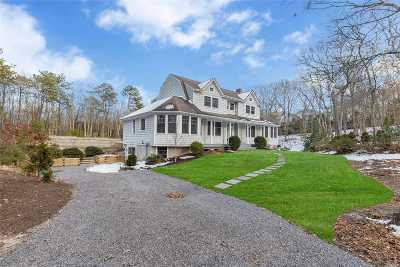 Hampton Bays Single Family Home For Sale: 61 Channing Cross