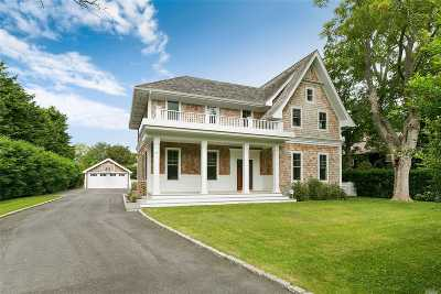 Southampton NY Single Family Home For Sale: $3,550,000