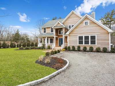 Westhampton Single Family Home For Sale: 134a Montauk Hwy