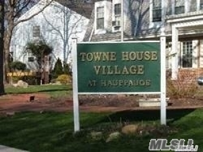 Hauppauge Rental For Rent: 1301 Town House Vlg