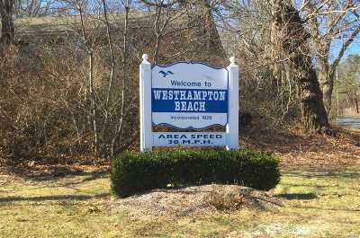 Westhampton Bch Residential Lots & Land For Sale: 466 Montauk Hwy