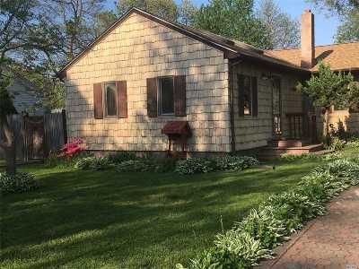 Centereach Single Family Home For Sale: 143 Smithtown Polk Blvd