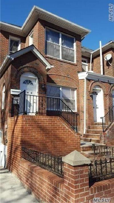 Jackson Heights Multi Family Home For Sale: 33-24 89 St