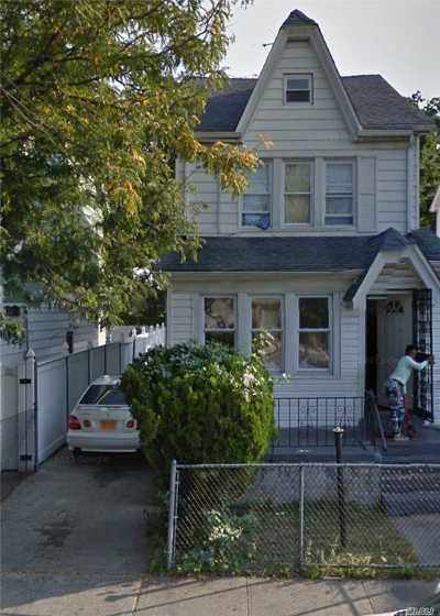 Jamaica Single Family Home For Sale: 169-22 144th Rd