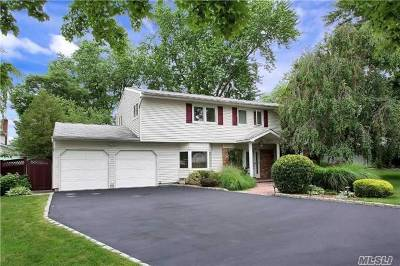 Hauppauge Single Family Home For Sale: 67 Cardinal Ln