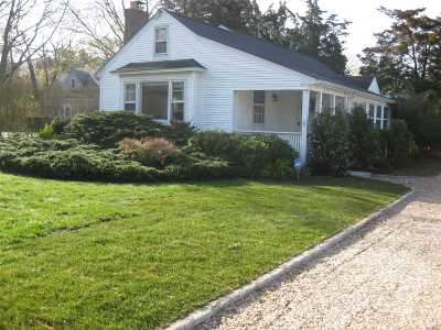 Hampton Bays Single Family Home For Sale: 58 Fanning Ave