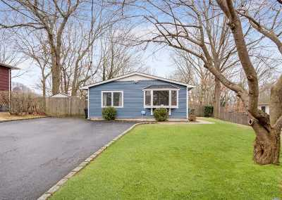 Ronkonkoma Single Family Home For Sale: 332 Southport St