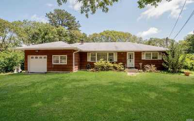 Coram Single Family Home For Sale: 21 Shady Ln