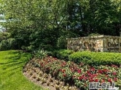 Roslyn Condo/Townhouse For Sale: 51 Cricket Club Dr
