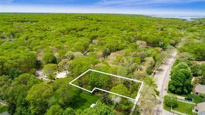 East Hampton Residential Lots & Land For Sale: 183 3 Mile Harbor Rd