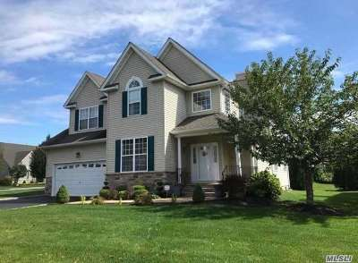 Wading River Single Family Home For Sale: 8 Joshua Ct