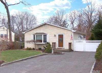 Selden Single Family Home For Sale: 79 S Evergreen Dr