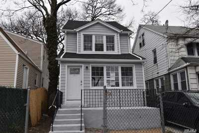 Single Family Home For Sale: 163-51 Mathias Ave