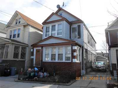 Woodhaven Multi Family Home For Sale: 74-22 90th Ave
