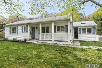 Hampton Bays Single Family Home For Sale: 37 Woodridge Rd