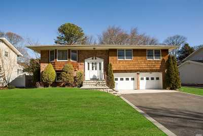Hauppauge Single Family Home For Sale: 58 Eagle Ln