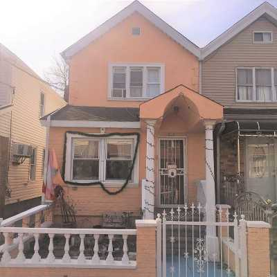 Woodhaven Single Family Home For Sale: 91-48 84th St
