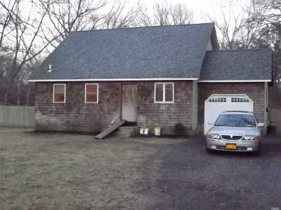 Single Family Home Sold: 357 Wading River Rd