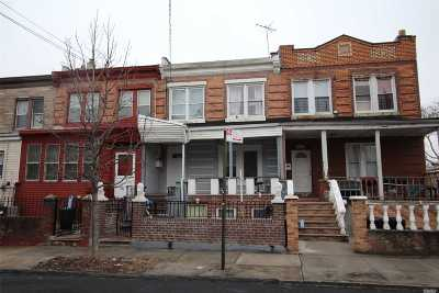 Brooklyn Multi Family Home For Sale: 494 Hegeman Ave