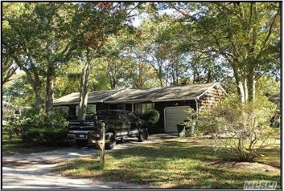 Hampton Bays Single Family Home For Sale: 43 Homewood Dr