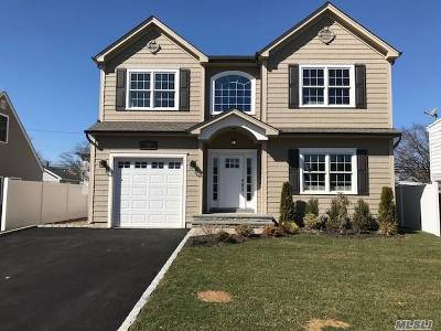 Bellmore Single Family Home For Sale: 2469 Hull Ave