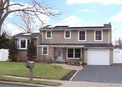 Selden Single Family Home For Sale: 95 Riviera Dr