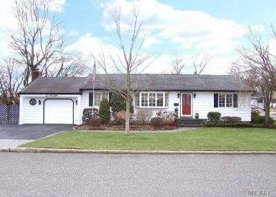 Centereach Single Family Home For Sale: 78 Saddle Ln