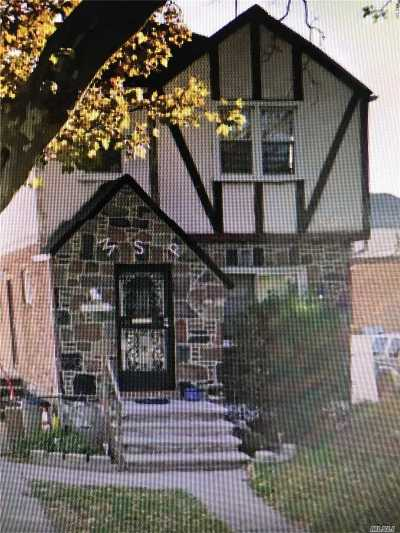 Jamaica Single Family Home For Sale: 133-09 E Van Wyck Expy