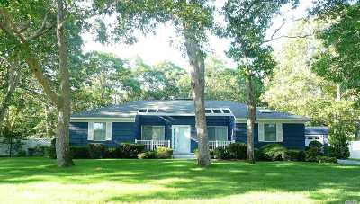 Hampton Bays Single Family Home For Sale: 3 Oak Ln