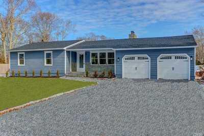 Hampton Bays Single Family Home For Sale: 137 W Tiana Rd