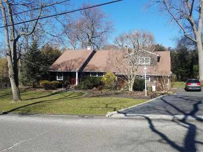 E. Setauket Single Family Home For Sale: 15 Caleb Brewster Rd