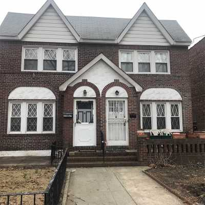 Ozone Park Single Family Home For Sale: 132-19 83rd St