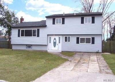 Centereach Single Family Home For Sale: 16 Holiday Park Dr
