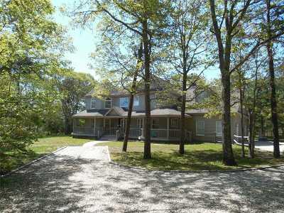 Hampton Bays Single Family Home For Sale: 108 E Tiana Rd