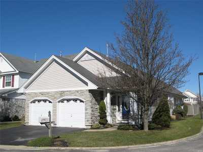 Middle Island Condo/Townhouse For Sale: 15 Kate Cir