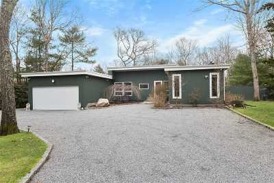 East Hampton Single Family Home For Sale: 22 Scallop Ave