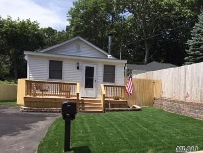 Sound Beach Single Family Home For Sale: 16 Yaphank Rd