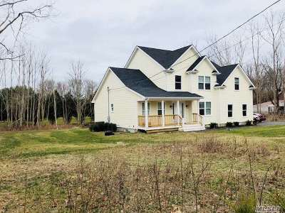 Center Moriches Single Family Home For Sale: 120 Main St