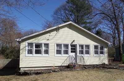 Single Family Home For Sale: 82a Cedar Dr