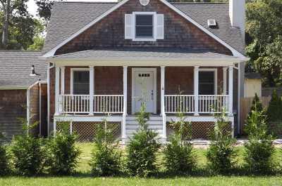 Hampton Bays Single Family Home For Sale: 55 Woodridge Rd