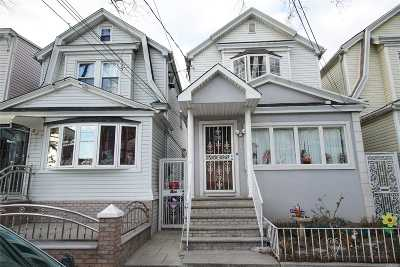 Woodhaven Single Family Home For Sale: 81-03 91 Ave