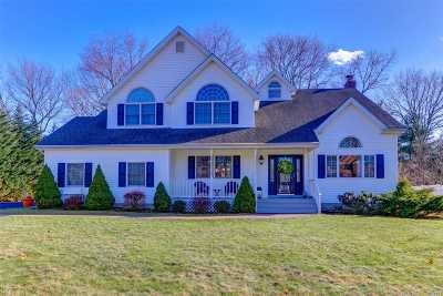 Hauppauge, Nesconset Single Family Home For Sale: 4 Shore View Ct
