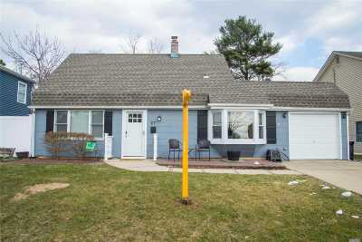 Levittown Single Family Home For Sale: 27 Slate Ln