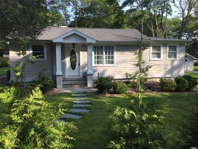 Hampton Bays Single Family Home For Sale: 23 Shore Rd