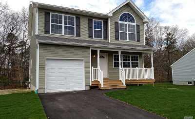 Ridge Single Family Home For Sale: Lot 4 E Margin Dr