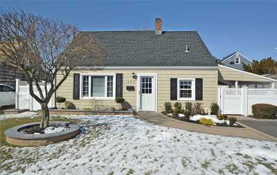 Levittown Single Family Home For Sale: 206 Center Ln