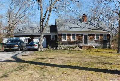 Mattituck Single Family Home For Sale: 725 Bennetts Pond Ln