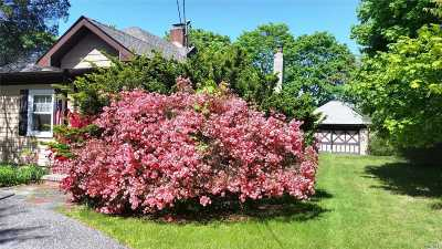 Center Moriches Single Family Home For Sale: 38 Union Ave